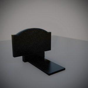 Памятник на могилу горизонтальный плечики