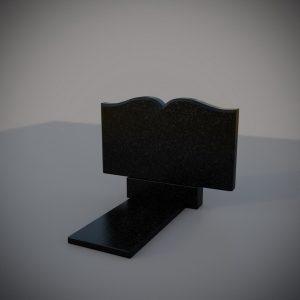 Памятник на могилу горизонтальный книга
