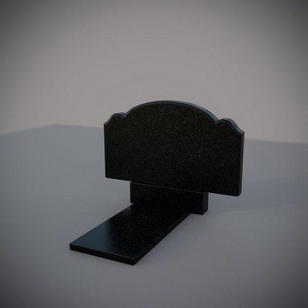 Памятник из гранита горизонтальный
