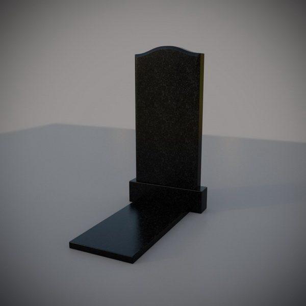 """Гранитный памятник на могилу """"Плечики"""""""