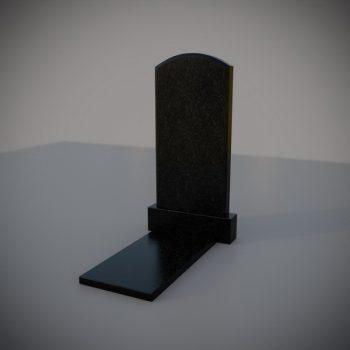 """Гранитный памятник на могилу """"Полуовал"""""""