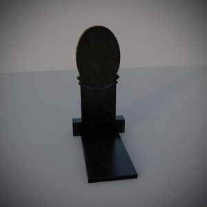 """Гранитный памятник на могилу """"Зеркало"""""""