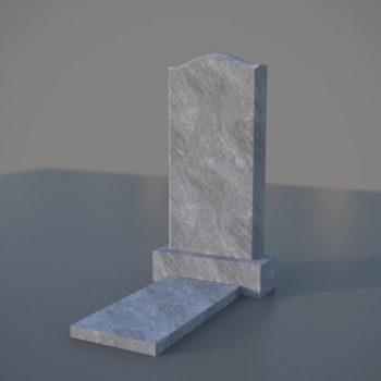Мраморный памятник на могилу