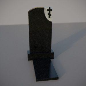 Гранитный памятник на могилу с крестом