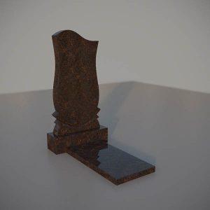 """Памятник на могилу из дымовского гранита """"Тюльпан"""""""