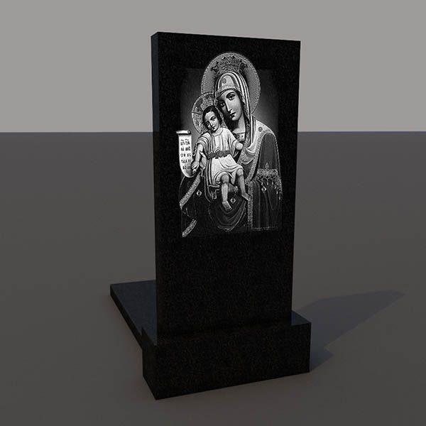Гравировка на обратной стороне памятника obr201