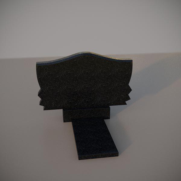 Памятник из гранита горизонтальный GGN101-2
