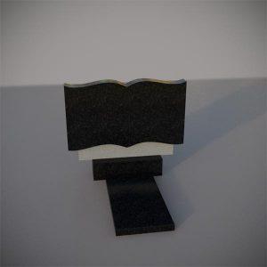 Памятник из гранита горизонтальный GGN102-2