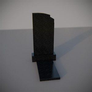 Памятник на могилу с резным верхом GVA009-2