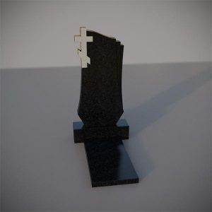 Памятник на могилу с резным крестом GVK009-2